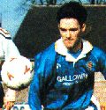 [Andy Thomson playing for Queens]